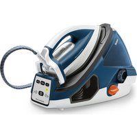TEFAL Pro Express GV7850 Steam Generator Iron - Blue and White, Blue