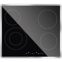 GRUNDIG GIEV613420E Electric Ceramic Hob - Black, Black