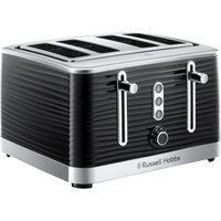 Buy RUSSELL HOBBS Inspire 24381 4-Slice Toaster - Black, Black - Currys PC World