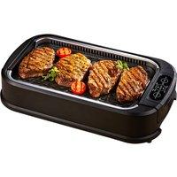 DREW & COLE Power Air Smokeless Grill - Black, Black