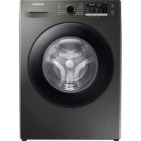 SAMSUNG ecobubble WW80TA046AX/EU 8 kg 1400 Spin Washing Machine - Graphite, Graphite.