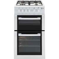 FLAVEL FTCG50W Gas Cooker - White, White