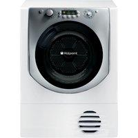 HOTPOINT  Aqualtis AQC9 BF7E1 Condenser Tumble Dryer - White, White
