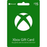MICROSOFT Xbox Live Gift Card - £15.