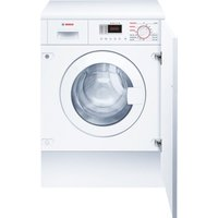 BOSCH WKD28351GB Integrated Washer Dryer - White, White