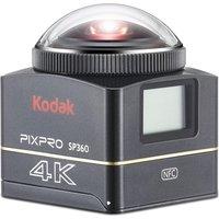 KODAK 4k Explorer SP360 Action Camcorder - Black, Black