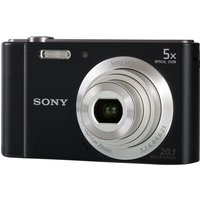 Sony W800 Compact Camera - Black,