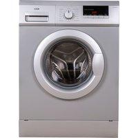 LOGIK L814WMS17 8 kg 1400 Spin Washing Machine - Silver, Silver