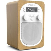 Click to view product details and reviews for Pure Evoke H2 Portable Dab Fm Clock Radio Oak.