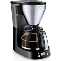 MELITTA Easy Top Timer Filter Coffee Machine - Black and Stainless Steel, Stainless Steel
