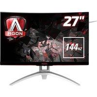 AOC AG272FCX Full HD 27 Curved LCD Monitor - Black, Black