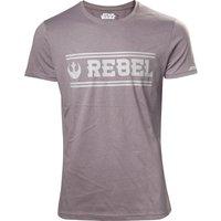 STAR WARS Rogue One Rebel Alliance T-Shirt - 2XL, Grey, Grey