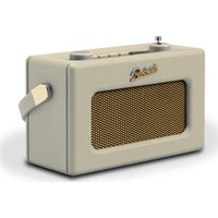 Click to view product details and reviews for Roberts Revival Uno Retro Portable Clock Radio Pastel Cream Cream.