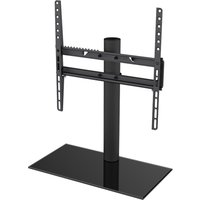 AVF B400BB 550 mm TV Stand with Bracket - Black, Black