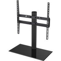 AVF B400BB 550 mm TV Stand with Bracket - Black, Black