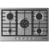 Hoover Hgh75swce X Gas Hob - Stainless Steel, Stainless Steel