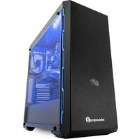 PC Specialist Vortex Core Elite Intel Core i3 GTX 1050 Ti Gaming PC - 1 TB HDD