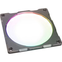 PHANTEKS Halos Lux Digital RGB LED Fan Frame - 120 mm, Aluminium Gunmetal Grey, Grey