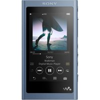 SONY Walkman NW-A55L Touchscreen MP3 Player with FM Radio - 16 GB, Blue, Blue
