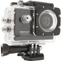 EASYPIX Panox MX200 Action Camera - Black, Black