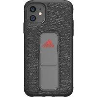 ADIDAS SP Grip FW19 iPhone 11 Case - Black & Red, Black