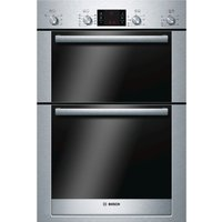 BOSCH Exxcel HBM53R550B Electric Double Oven - Stainless Steel, Stainless Steel