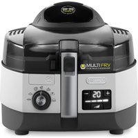 DELONGHI Multifry FH1364 Fryer - White & Black, White