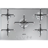 SMEG  Linea PX750 Gas Hob - Stainless Steel, Stainless Steel