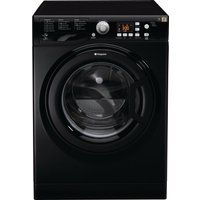 HOTPOINT Aquarius FDF 9640 K 9 kg Washer Dryer - Black, Black