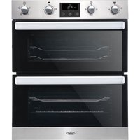 BELLING BI702FPCT Electric Built-under Double Smart Oven - Stainless Steel, Stainless Steel