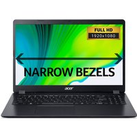 "Acer Aspire 3 A315-54 15.6"" Intel Core i3 Laptop - 1 TB HDD, Black,"