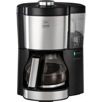 Look V Perfection Filter Coffee Machine - Black & Stainless Steel, Stainless Steel