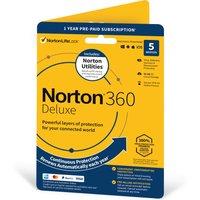 NORTON 360 Deluxe (2020) & NORTON Utilities - 1 year for 5 devices