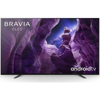 55 SONY BRAVIA KD55A8BU Smart 4K Ultra HD HDR OLED TV with Google Assistant.