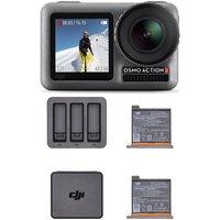 DJI Osmo Action Camera Charging Combo - Grey & Black
