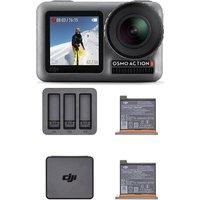 DJI Osmo Action Camera Charging Combo - Grey & Black, Grey