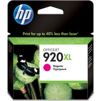 HP 920XL Magenta Ink Cartridge, Magenta