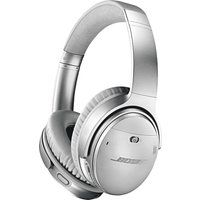 BOSE QuietComfort QC35 II Wireless Bluetooth Noise-Cancelling - Silver, Silver sale image
