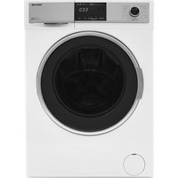 Sharp Es-hdb9147w0 9 Kg Washer Dryer - White, White