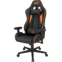Race19 Gaming Chair - Black & Orange, Black