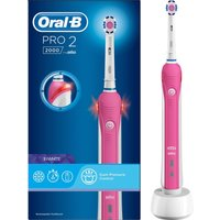 Pro 2000 Electric Toothbrush - Pink, Pink