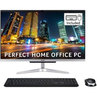 """ACER Aspire C24-963 23.8"""" All-in-One PC - Intel® Core™ i5, 1 TB HDD & 128 GB SSD, Silver"""