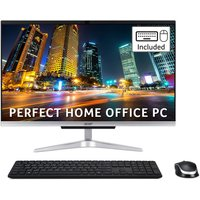 "ACER Aspire C24-963 23.8"" All-in-One PC - Intelu0026regCore™ i5, 1 TB HDD & 128 GB SSD, Silver, Silver"