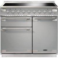 RANGEMASTER Elise 100 Electric Induction Range Cooker - Stainless Steel and Chrome, Stainless Steel
