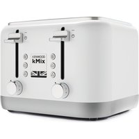 Buy KENWOOD KMIX 4-Slice Toaster - White, White - Currys PC World