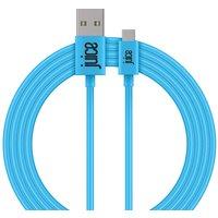 JUICE USB Type-C Cable - 2 m, Blue, Blue