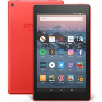 AMAZON Fire HD 8 Tablet (2018) - 16 GB, Red, Red