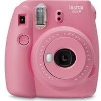 INSTAX mini 9 Instant Camera with Pink Lemonade Film - Blush Rose