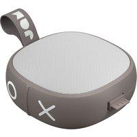 JAM Hang Up HX-P101GY Portable Bluetooth Speaker - Grey, Grey