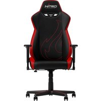 NITRO CONCEPTS S300 EX Gaming Chair - Black & Red, Black